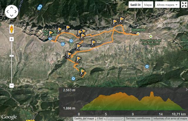 Wikiloc - ruta Comabona i Costa Cabirulera