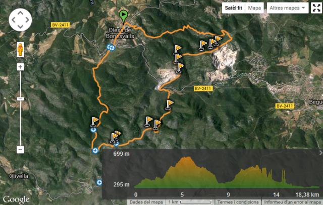 Wikiloc Montau i al Puig de la Mola