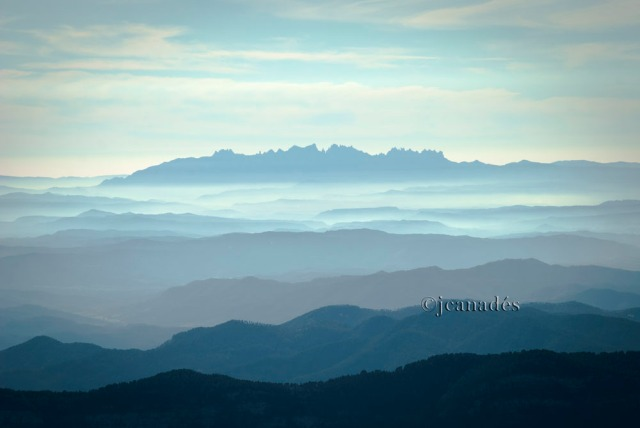 Pla de Bages emboirat i Montserrat