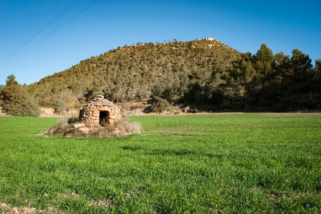 Cabana de pedra seca