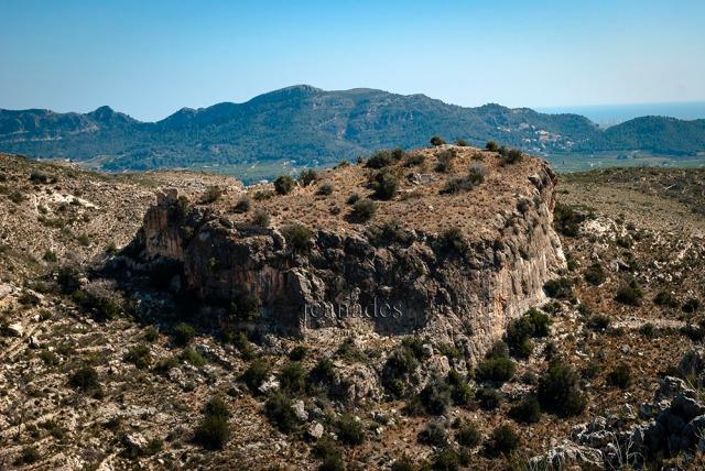 Runes del El Castell de Borró