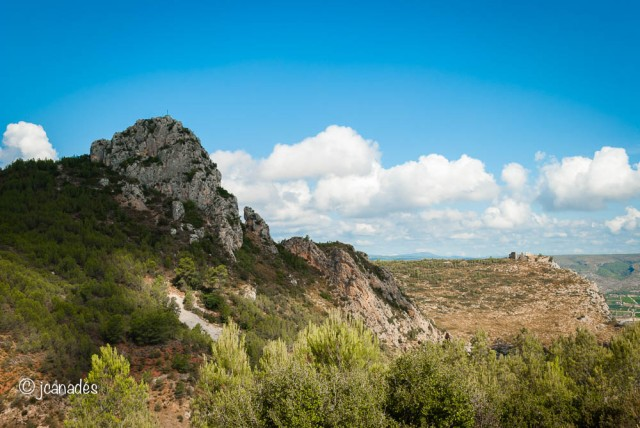 Penyó i Castell de Vallada