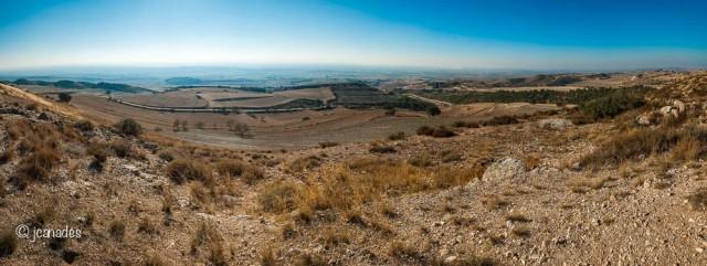 Panoràmica des de Lo Pilar d'Almenara